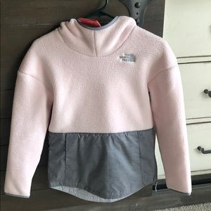 The North Face Fleece Hoodie - girls size 10-12